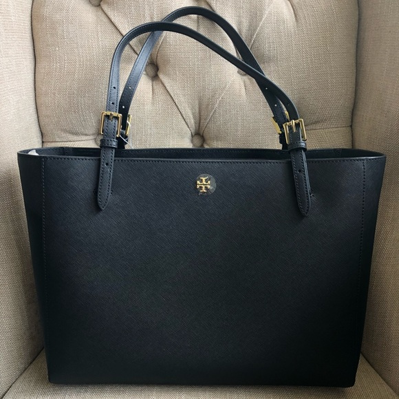 1a1f0aa007d07 Tory Burch Emerson Large Buckle Tote